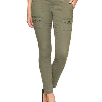 Gap Women Factory Mini Cargo Legging Khakis
