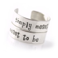 Simply Meant to Be Ring Set - Spiffing Jewelry