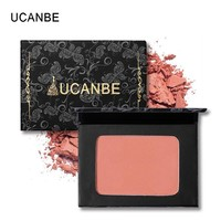 UCANBE Face Shadow/Blush Powder Cheek Blush Pressed Powder Mineral Pigment Professional Makeup Blusher Bronzer Contour Palette