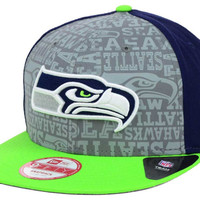 Seattle Seahawks 2014 NFL Draft 9FIFTY Snapback Cap