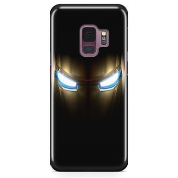 Iron Man Face Samsung Galaxy S9 Plus Case | Casefantasy