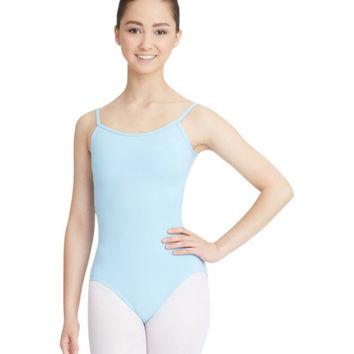 Adult Camisole Leotard with Adjustable Straps (Light Blue) - CC100