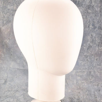 """Free shipping--13"""" tall Foam wig stands/mannequin head with sucker for wig/hair piece/toupee display"""