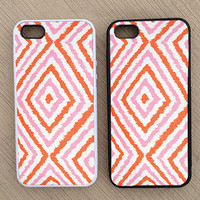 Cute Abstract Geometric Pattern iPhone Case, iPhone 5 Case, iPhone 4S Case, iPhone 4 Case - SKU: 236