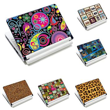 """PVC Prints Laptop Decal Sticker Cover Skin 11.6""""12""""13""""13.3""""14""""15""""15.4""""15.6"""" Notebook Protector for Macbook Lenovo HP ASUS ACER"""