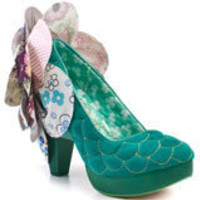 Sweety Bird - Turquoise, Irregular Choice