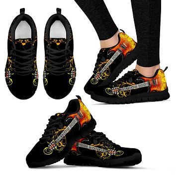 Ladies Guitar Sneakers