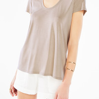 ALINNA DEEP SCOOP TOP