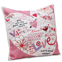 Valentines Day Decor, Valentines Gift, i Love You Pillow, Heart Pillows, Love Heart Cushion, Heart Cushion