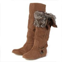 country side ride knee high boots in tan - $44.99 : ShopRuche.com, Vintage Inspired Clothing, Affordable Clothes, Eco friendly Fashion