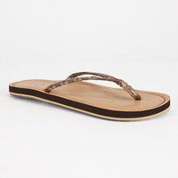 Cobian Bethany Womens Sandals Brown  In Sizes