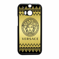 Versace Chevron Gold Edition HTC One M8 Case