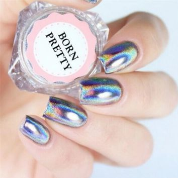 Holographic Unicorn Nail Powder