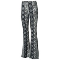 About A Girl Juniors' Printed Flare Pants, Size: