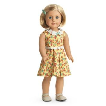 Kit's Floral-Print Dress | BeForever | American Girl