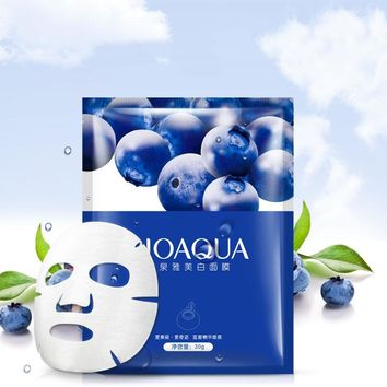 BIOAQUA Blueberry Treatment Face Mask