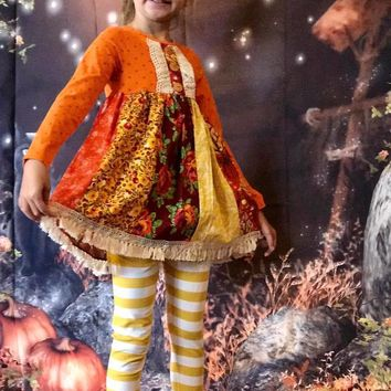 Peaches N Cream 2017 Hues Of Harvest Tunic & Legging