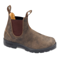 Rustic Brown Premium Leather Chelsea Boots - Blundstone USA
