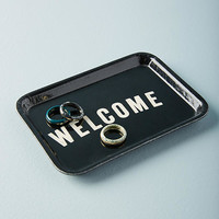 Welcome Decorative Tray