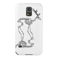 Spooky vintage skeleton reindeer drawing galaxy s5 case