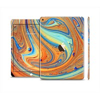 The Colorful Wet Paint Mixture Skin Set for the Apple iPad Air 2