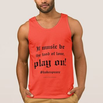 William Shakespeare Love Quote L3 Tank Top