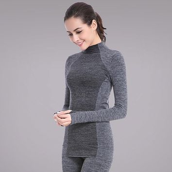 Screaming Retail Price Women Long Sleeve Fitness Gym Running T Shirt Stretch Soft Sports Yoga Tops