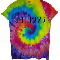 The 1975 Logo Tie Dye Tshirts - Choice of 4 dye designs
