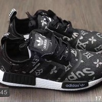 LV+Adidas Fashion Trending Running Sports Shoes