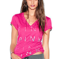 Bling V-neck Tee - Victoria's Secret
