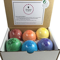 6 Kids BUBBLE Bath Bombs with Toy Surprises Inside