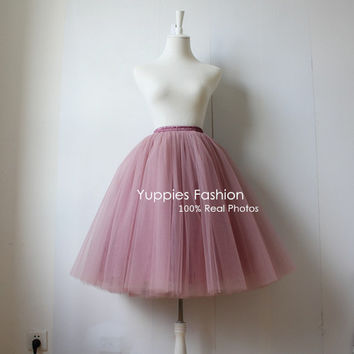 5 Layer Maxi Long Tulle Skirt American Apparel High Waist Tutu Skirts Womens Lolita Petticoat 2016 Summer faldas saia jupe