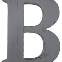 Letter B Rustic Wall Decor Gallery Wall Wall Letter Wood Sign Wall Decor Rustic Chic Wedding Photo Prop Nursery Kids Decor