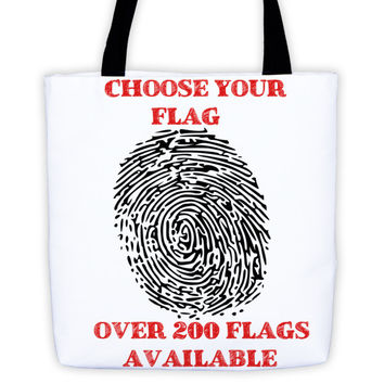 "Custom Flag Order - Tote Bag - 15"" x 15"""