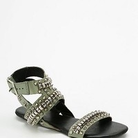 Matisse Footwear Elevate Studded Ankle-Wrap Sandal - Urban Outfitters