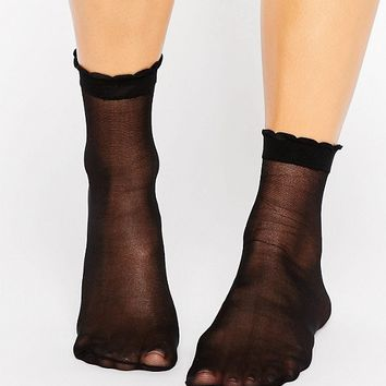 ASOS Sheer Ankle Socks at asos.com