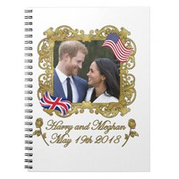 Prince Harry and Meghan Markle Notebook