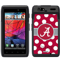Alabama Po... On OtterBox Commuter Series Case For Motorola Droid RAZR Black