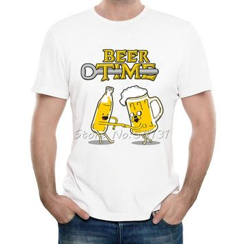 Beer Time T-shirt - Drinking Tee