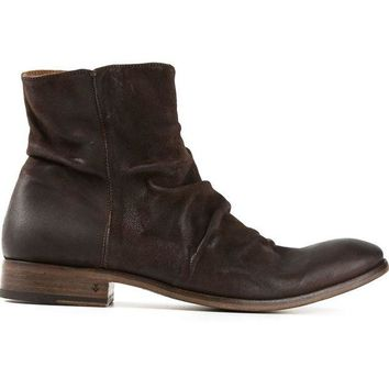 DCCKIN3 John Varvatos creased ankle boots