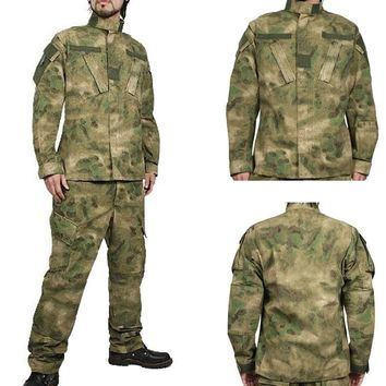 USMC BDU Military Uniform Tactical Hunting Airsoft Combat Gear Law enforcement Sets
