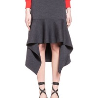 Skirt In Double Face Wool Jersey Women | Marni Online Store