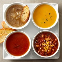 Assorted Soups, Set of 4