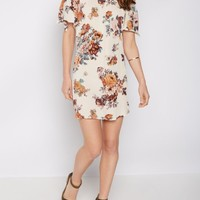 Rose Crepe Off Shoulder Shift Dress | Going Out Dresses | rue21
