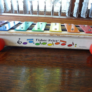 Fisher Price Xylophone, Vintage l970's