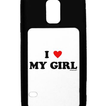 I Heart My Girl - Matching Couples Design Galaxy S5 Case  by TooLoud