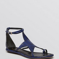 Caterina Star Flat Thong Sandals