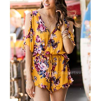 Grace & Lace Sunshine Romper