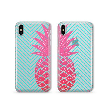 Best Friends Pineapple - Clear TPU Case Cover