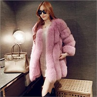 *Online Exclusive* Faux Fur Coat